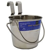 Flat Sided Stainless Steel Mini Bucket 1.2 lt